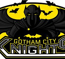 Gotham City Knights by MitchLudwig