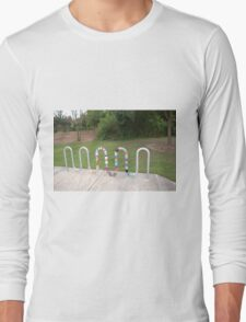 Knitted Worm Long Sleeve T-Shirt