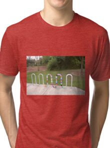 Knitted Worm Tri-blend T-Shirt
