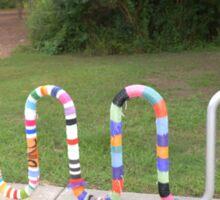 Knitted Worm Sticker