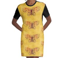 BUtteRFLY b14 Graphic T-Shirt Dress