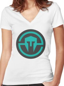 Immortals - Vector Logo Women's Fitted V-Neck T-Shirt