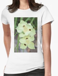 Yellow Eye Womens Fitted T-Shirt