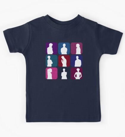 Sherlock Silhouettes Collection Kids Tee