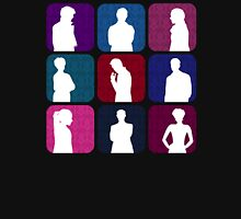 Sherlock Silhouettes Collection Womens Fitted T-Shirt