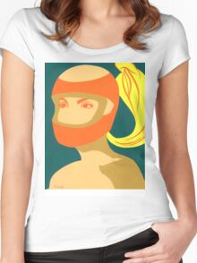 RACER GIRL Women's Fitted Scoop T-Shirt