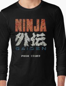 Ninja Gaiden Vintage Emblem Long Sleeve T-Shirt
