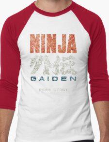 Ninja Gaiden Vintage Emblem Men's Baseball ¾ T-Shirt