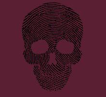 Fingerprint Skull Unisex T-Shirt