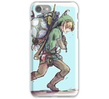 It's dangerous to go alone! Take this. iPhone Case/Skin