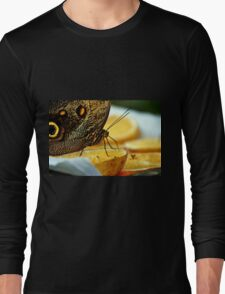 Giant Butterfly And Other Diners In Armenia Long Sleeve T-Shirt