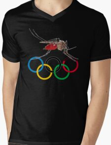 Blood Test at the Olympics Mens V-Neck T-Shirt