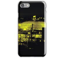 City Skyline Lit Up at Night iPhone Case/Skin