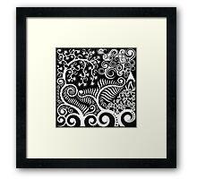NZ Flora Framed Print
