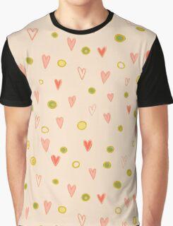 Romantic pattern Graphic T-Shirt