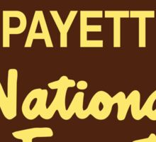 Payette National Forest Sticker