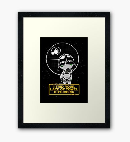 A Powerful Ally Framed Print