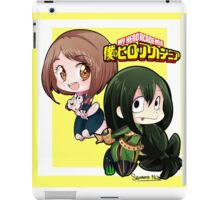 boku no hero academia chibi girls iPad Case/Skin