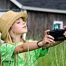 Taking a Selfie by Maria Dryfhout