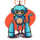 Monkey! by mikeballz