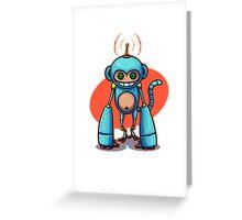 Monkey! Greeting Card