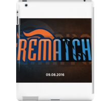 NFL Broncos vs Panthers Rematch iPad Case/Skin
