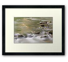 Glenns Creek, Versailles, Kentucky Framed Print