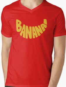 Type O' Banana Mens V-Neck T-Shirt