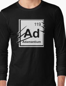 Adamantium Element Long Sleeve T-Shirt