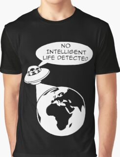UFO: No Intelligent Life Detected (Europe)  Graphic T-Shirt