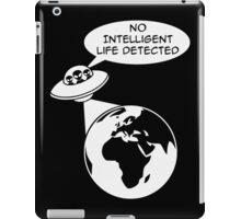 UFO: No Intelligent Life Detected (Europe)  iPad Case/Skin