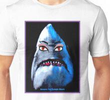 """BEWARE THE FEMALE SHARK"" Fun Art Print Unisex T-Shirt"