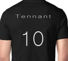 David Tennant 10th Doctor Jersey Unisex T-Shirt