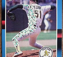 135 - Eric Plunk by Foob's Baseball Cards