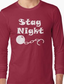 Ball And Chain Stag Long Sleeve T-Shirt