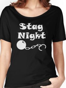 Ball And Chain Stag Women's Relaxed Fit T-Shirt