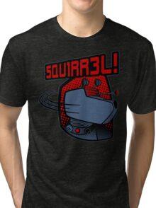 SQUIRREL!  Tri-blend T-Shirt