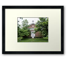 Historic Country Church Framed Print