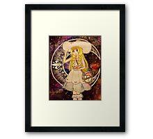 Pokemon Moon - Lillie Framed Print