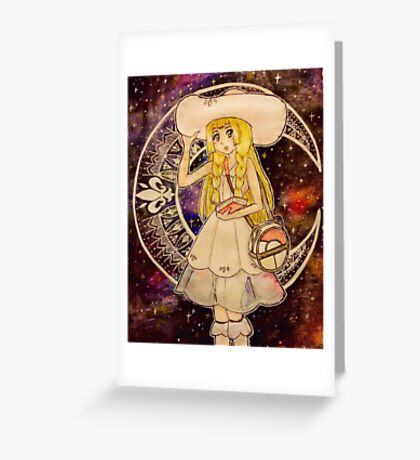 Pokemon Moon - Lillie Greeting Card
