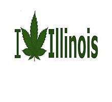 I Love Illinois by Ganjastan