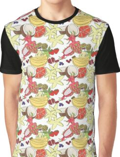 Fruit Pattern by Vixtopher Graphic T-Shirt