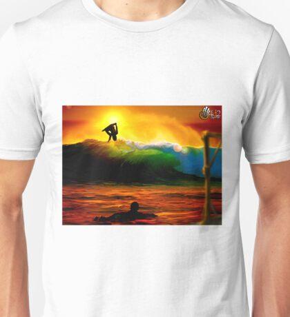 Zas! en la cara Unisex T-Shirt