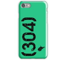 Area Code 304 West Virginia iPhone Case/Skin