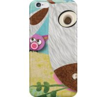 1988 Cow Jump  Runner Up iPhone Case/Skin