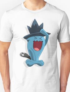 Wobbuffet with Murkrow hat Crossver T-Shirt