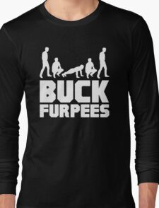 Buck Furpees Burpees Fitness Long Sleeve T-Shirt