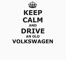 Keep Calm and Drive an Old Volkswagen Men's Baseball ¾ T-Shirt