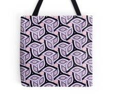 Abstract eyes and patterns Tote Bag