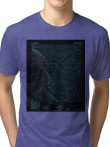 USGS TOPO Map Alaska AK Killik River D-1 356768 1986 63360 Inverted Tri-blend T-Shirt